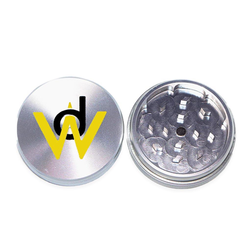 WD-Metal-Weed-Grinder Open