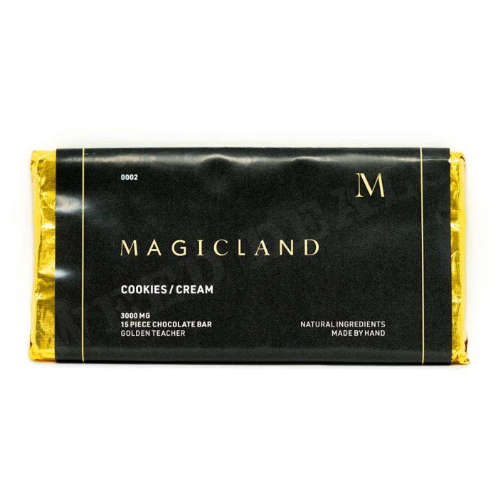 Magicland-Cookies-&-Cream-Chocolate-Bar-Golden-Teacher-3000mg