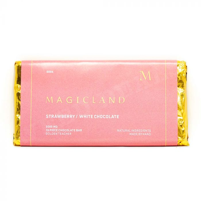 Magicland-Strawberry-&-White-Chocolate-Golden-Teacher-3000mg