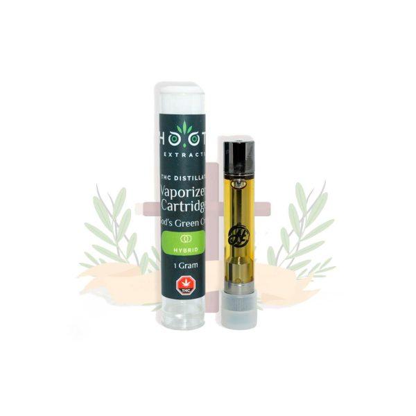 God's Green Crack THC vape cartridge 1000x1000