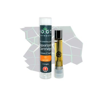 Green Crack THC vape cartridge 1000x1000
