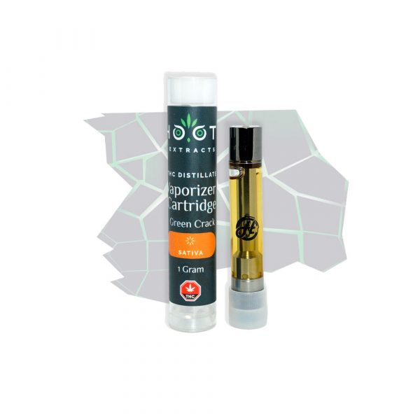 Green Crack THC vape cartridge 1000x1000
