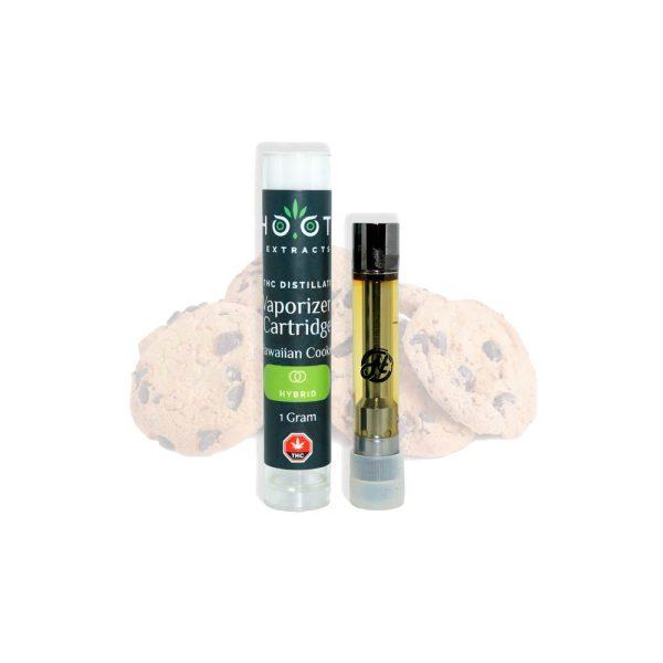 Hawaiian Cookies THC vape cartridge 1000x1000