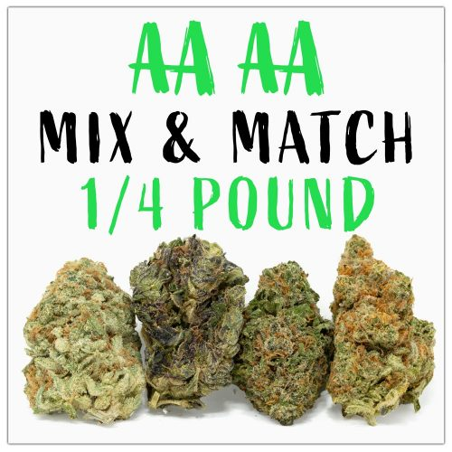 AAAA-Quarter-Pound-Weed-Mix-&-Match