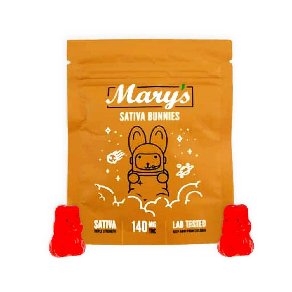 Mary's edibles sativa bunnies