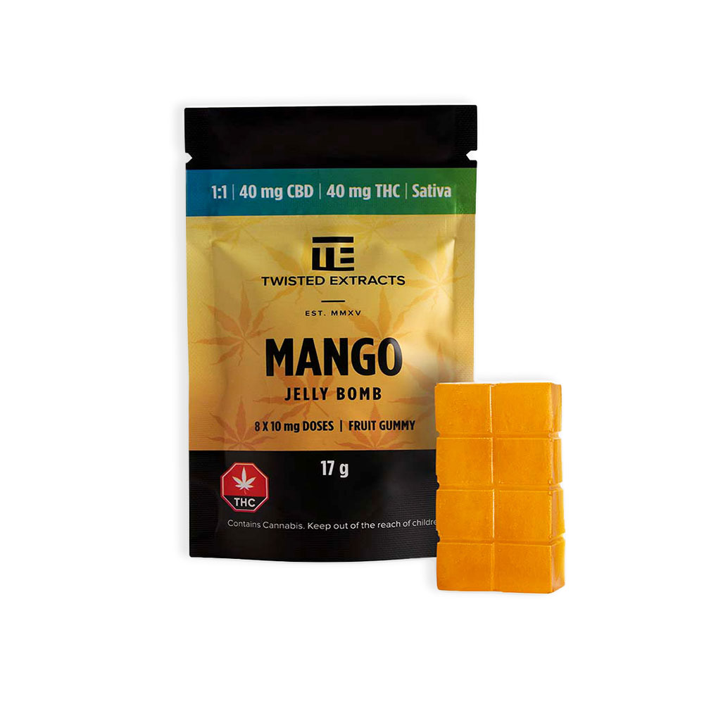 Twisted Extracts Mango Jelly Bomb