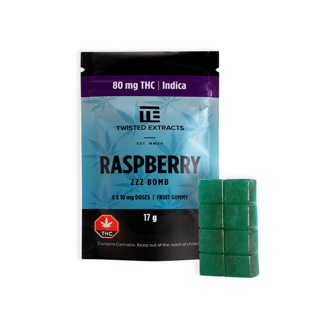 twisted-extracts-80-mg-THC-Indica-rasberry-zzz-bomb