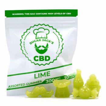 Sugar-Jacks-Lime-300MG-CBD-Gummies