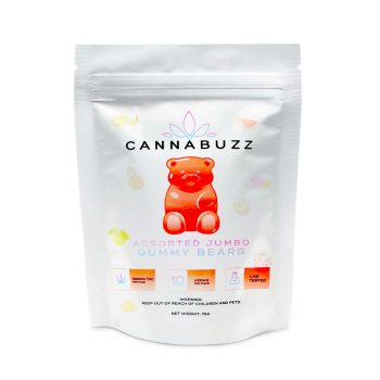 Cannabuzz Assorted Jumbo 1000mg THC Gummy Bears