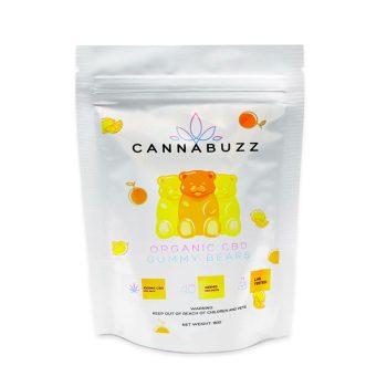 Cannabuzz Organic 1000mg CBD Gummy Bears