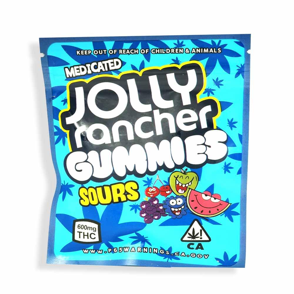 Jolly Rancher 600mg THC Sour Gummies
