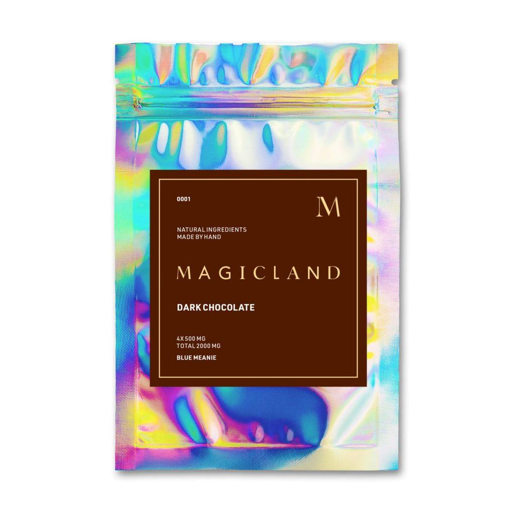 Magicland Mushroom Dark Chocolates