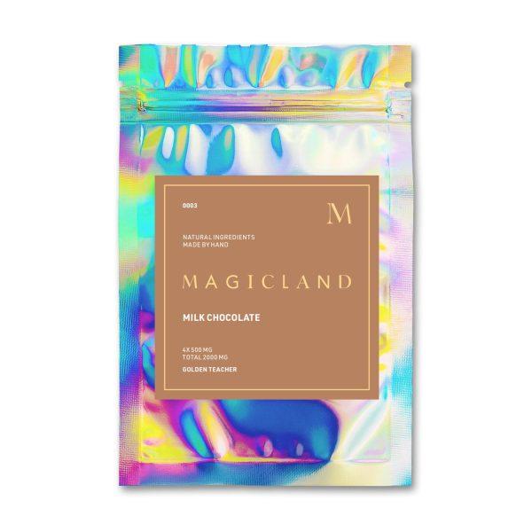 Magicland Mushroom Milk Chocolates