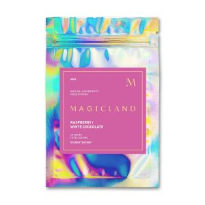Magicland Raspberry Mushroom White Chocolate Golden Teacher