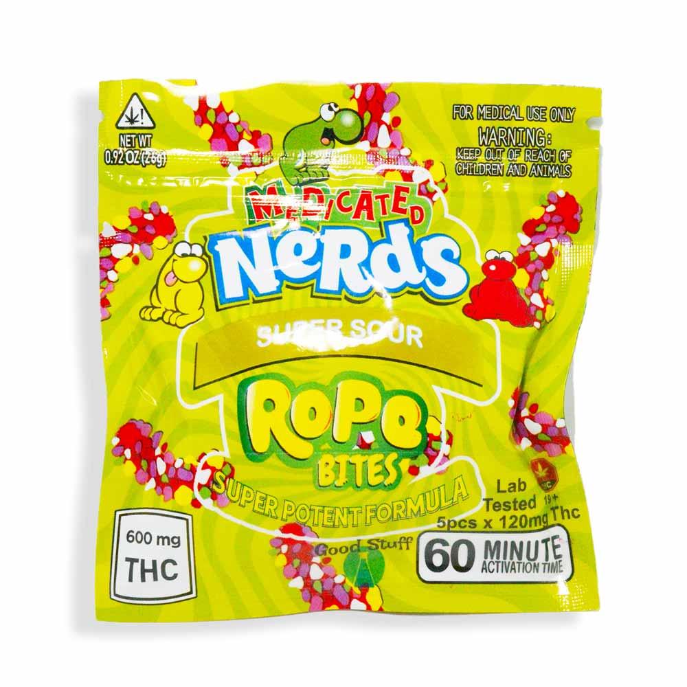 Super Sour THC Nerds Rope Bites