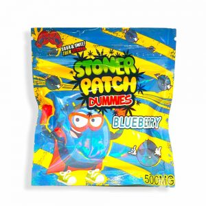 Stoner Patch Dummies Blueberry 500mg THC Candy