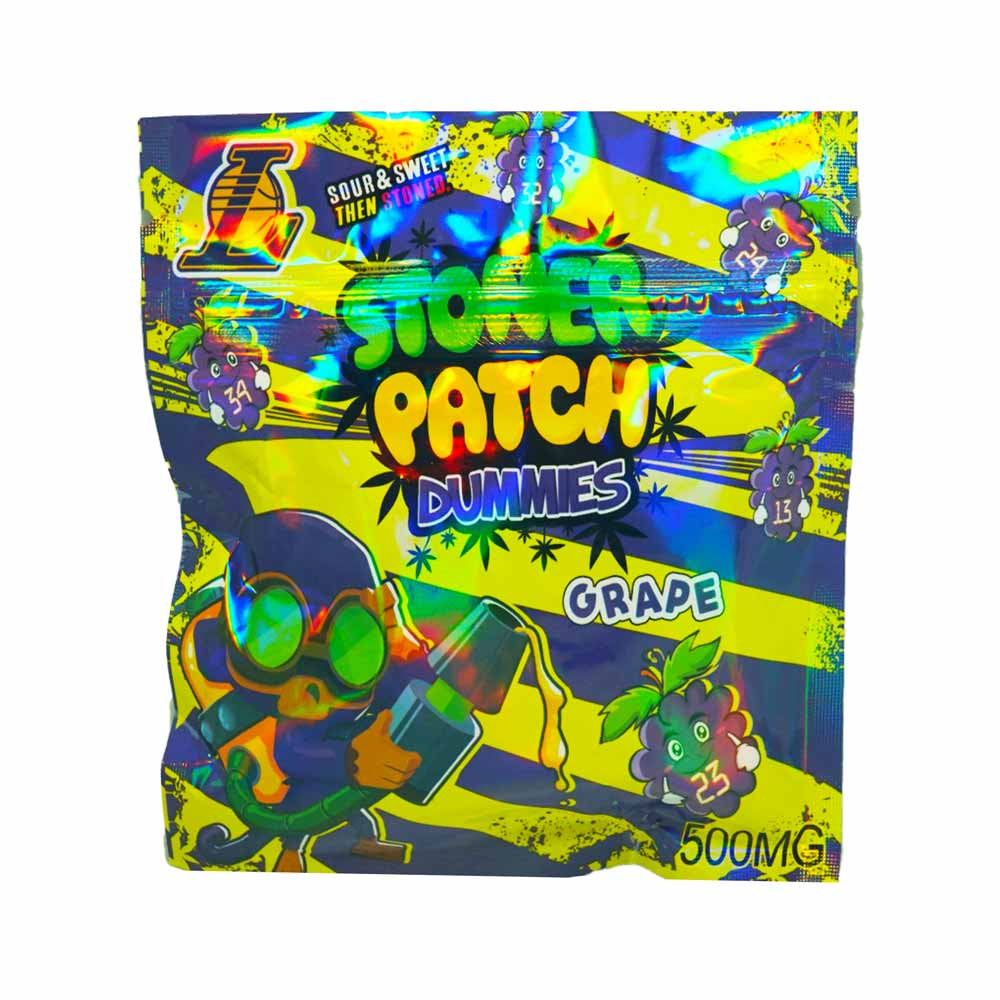 Stoner Patch Dummies Grape 500mg THC