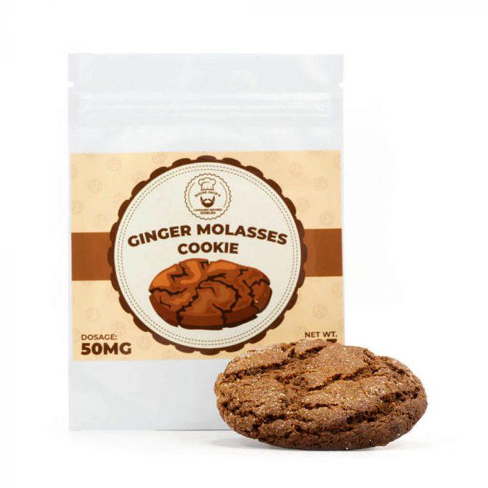 SugarJacks-Ginger-Molasses-50mg-THC-Cookie