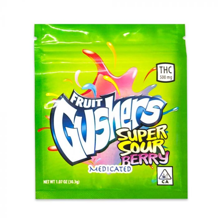 THC-500mg-Fruit-Gushers-Super-Sour-Berry