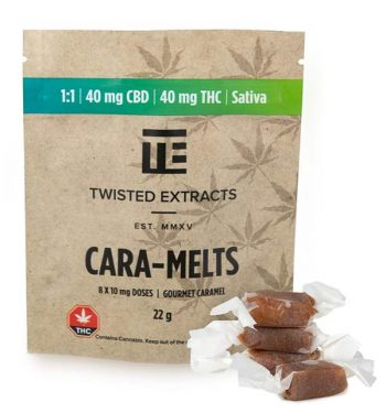 Twisted Extracts THC & CBD Caramelts | Weed Deals