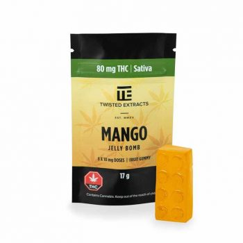 Twisted Extracts Mango THC Gummies | Weed Deals