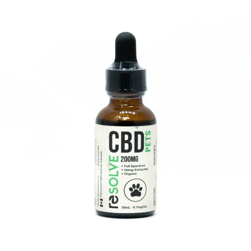 Resolve CBD Oil For Pets 200mg | Buy CBD Oil Canada at Weed-Deals