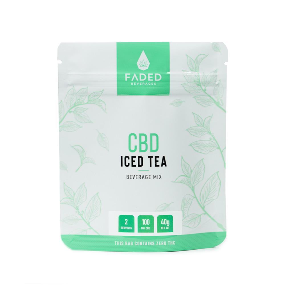 CBD Iced Tea by Faded