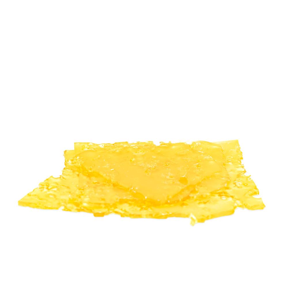 Golden Yellow Pink Kush Shatter