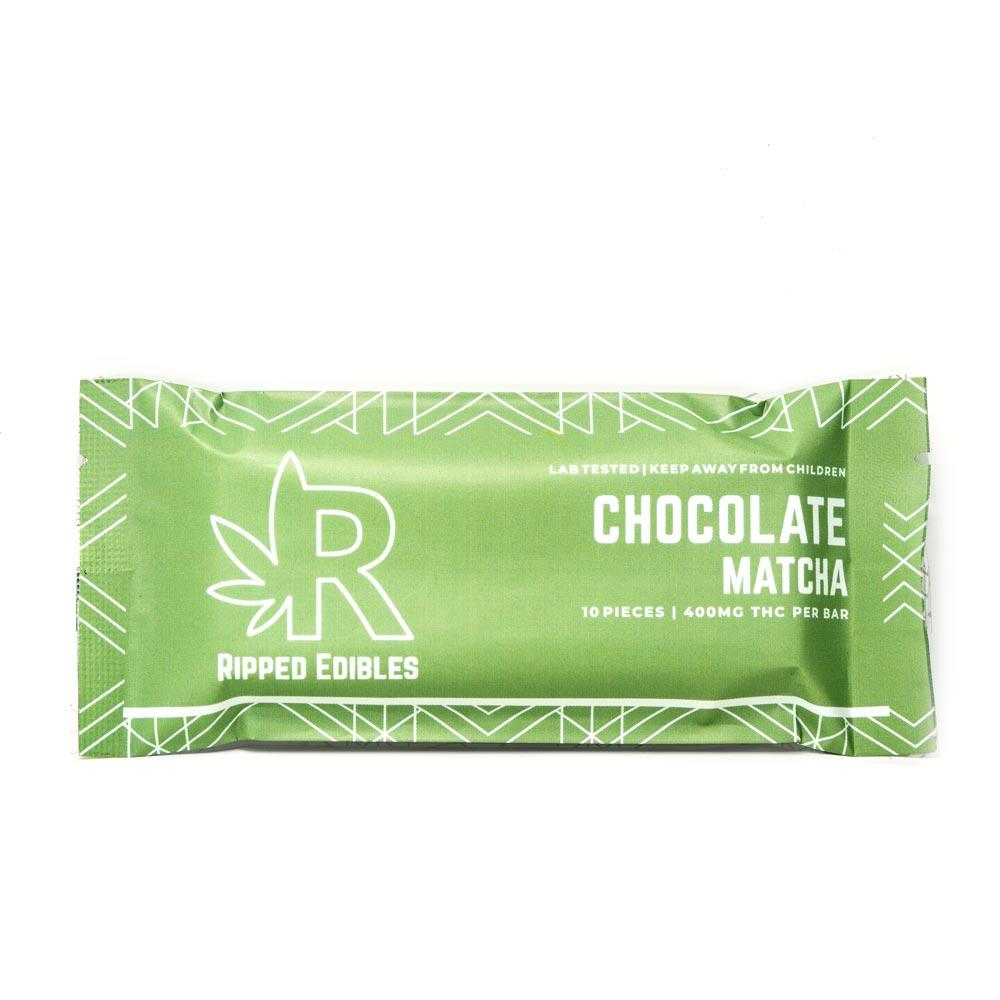 Ripped-Edibles-Cannabis-Chocolate-Matcha-400mg-THC