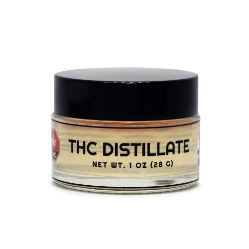 THC Distillate 1oz Jar
