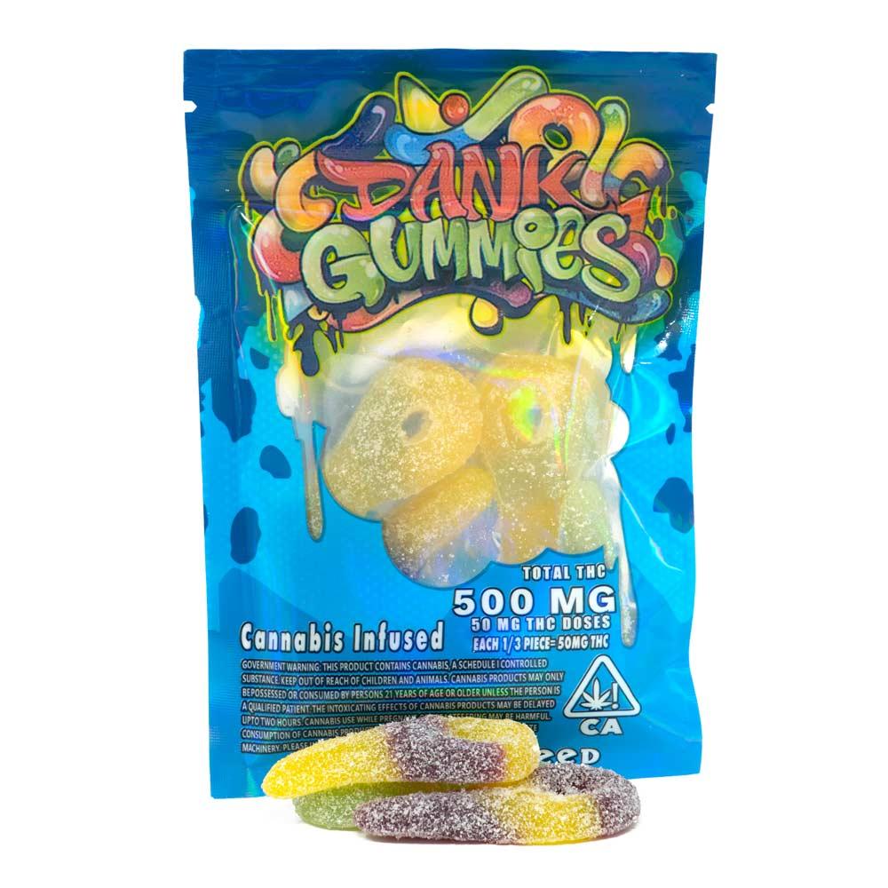 Dank-Gummies-Sour-Keys-500mg-THC