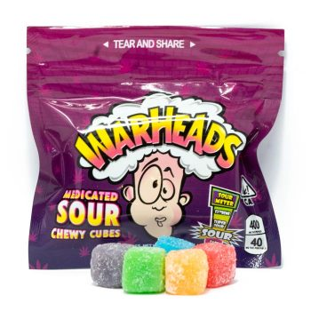 Warheads-THC-Sour-Chewy-Cubes