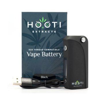 Hooti-Extracts-510-Thread-Vape-Battery-Black-