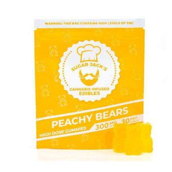 SugarJacks-300mg-THC-High-Dose-Peachy-Bears